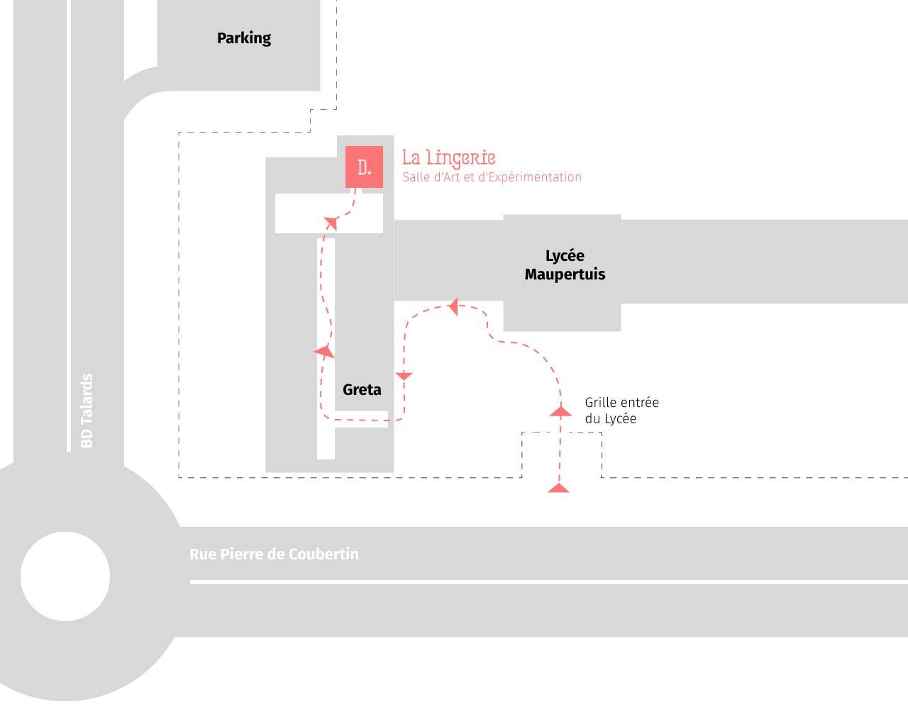 accès lingerie institut design