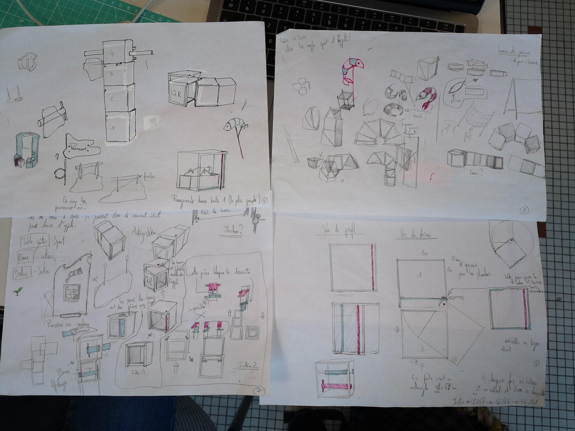 croquis espace institut design 2