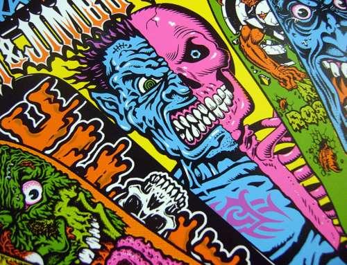 Jim Phillips : illustration, skateboard et punk culture