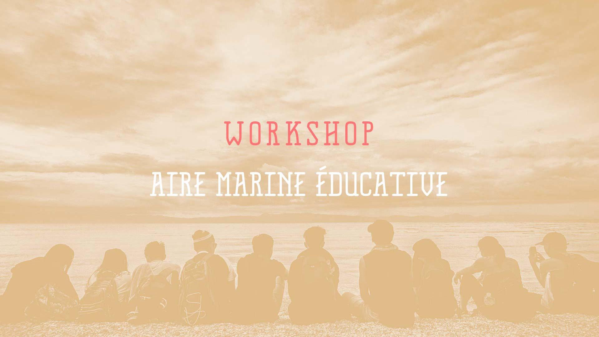 Aire marine éducative workshop
