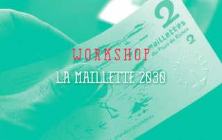 Image de couverture de l'article sur le workshop design de la Maillette