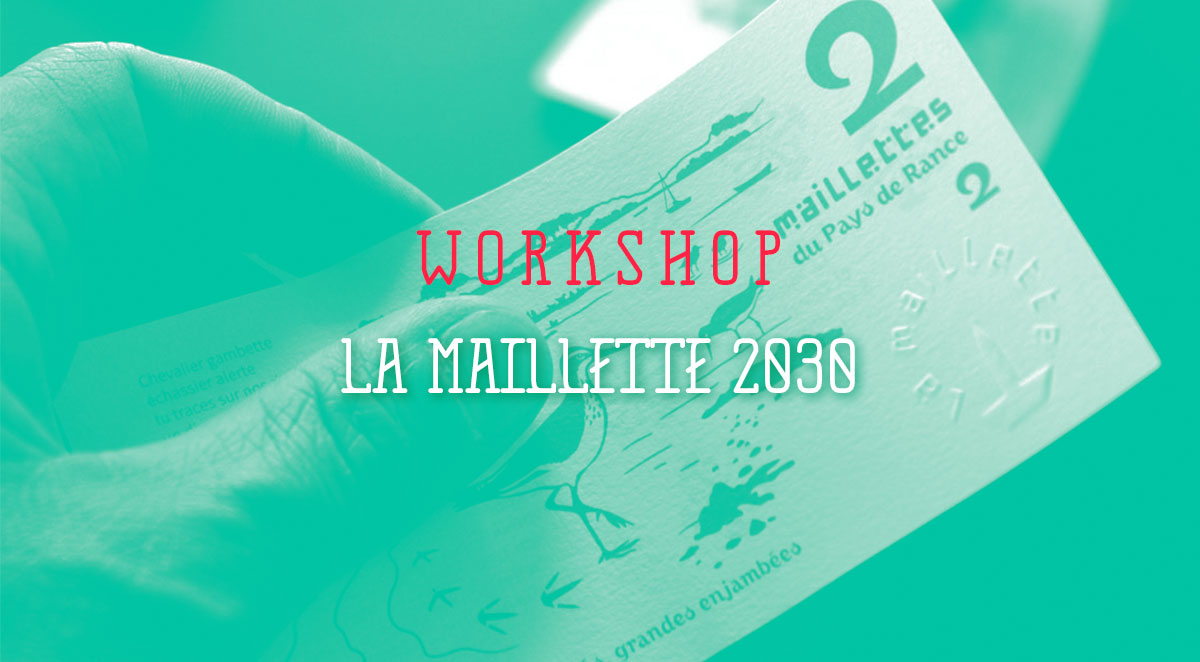 Image de couverture de l'article sur le workshop design de la Maillette