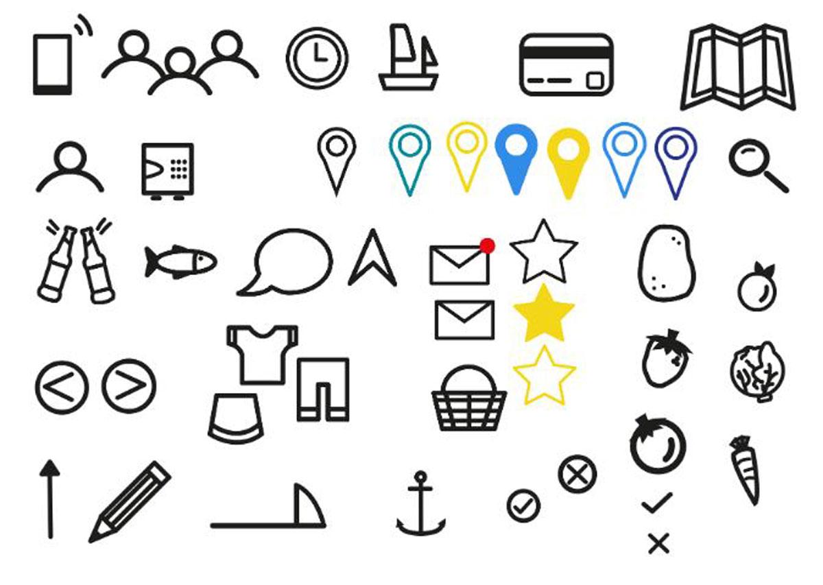 Icones_Pictos_couleurs_elements_logo_Dessins