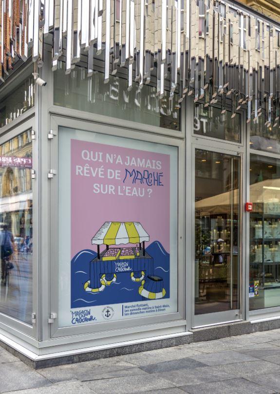 Affiche magasin du caboteur 3