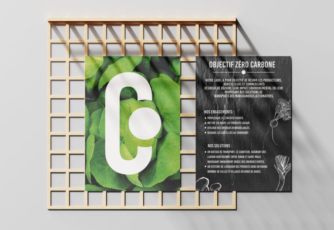 Affiche magasin du caboteur