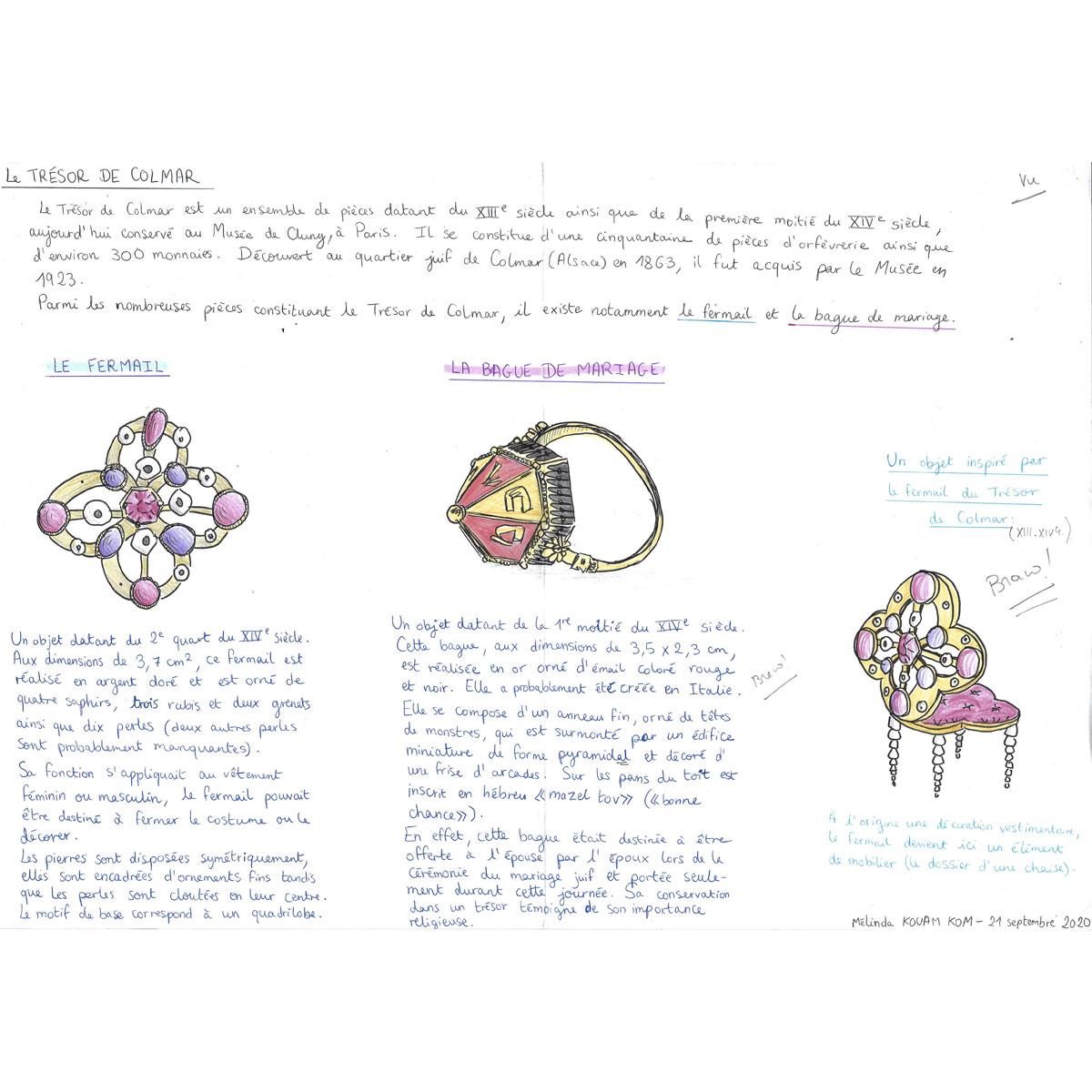 Histoire de l'Art - Mélinda
