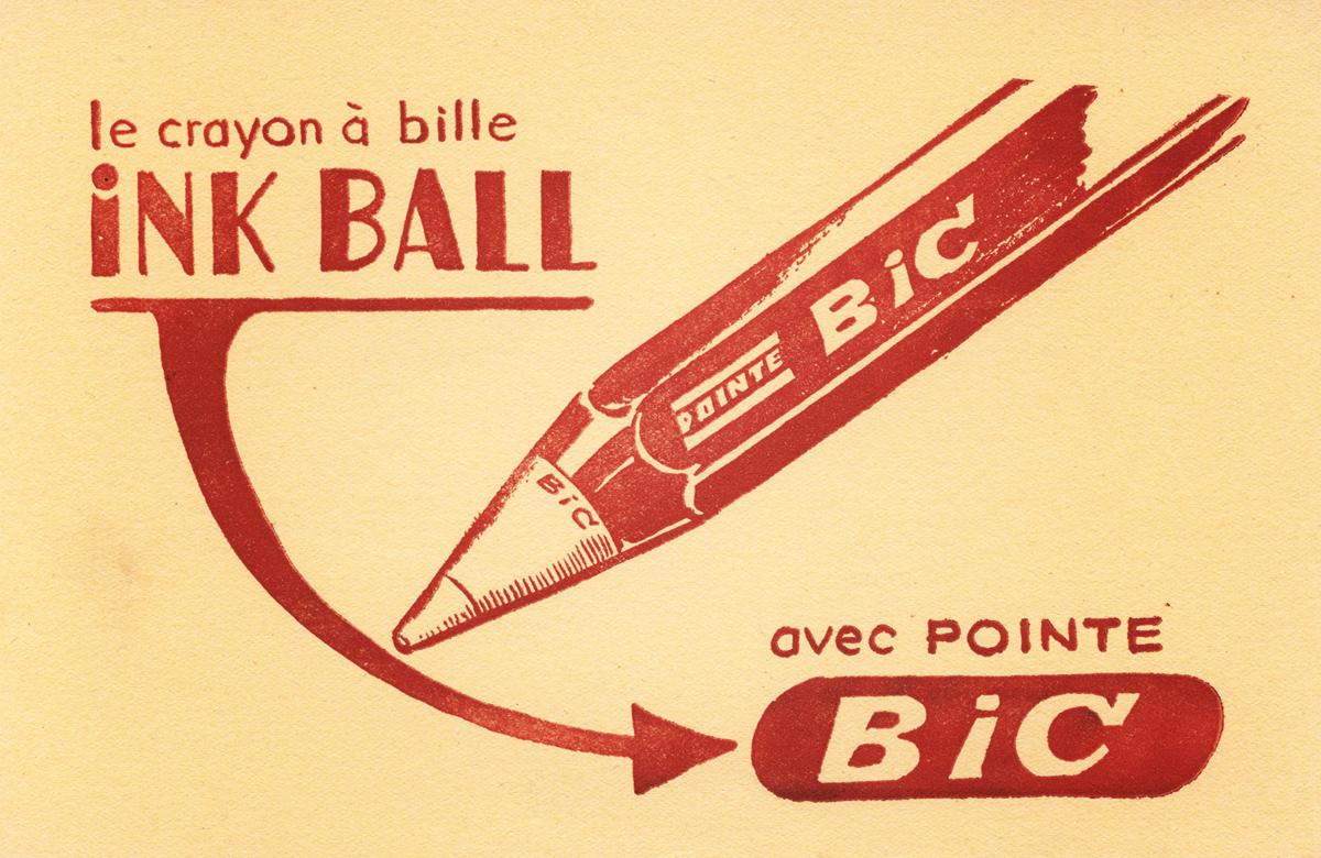 Bic crayon à bille