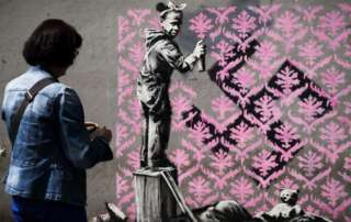 Oeuvre de Banksy - 4 - article étudiant institut design