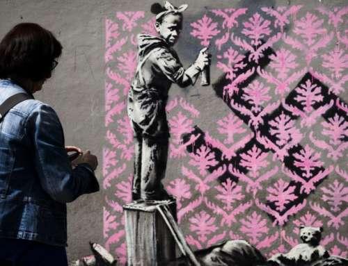 Banksy, l'artiste le moins connu du monde.